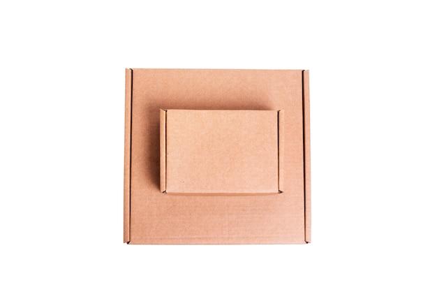 갈색 판지 판지 상자, 절연