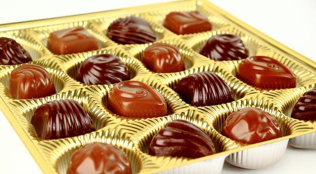 茶色のチョコレート菓子
