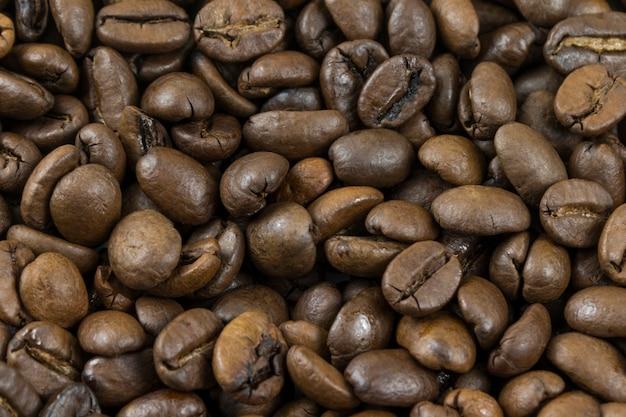 갈색 커피 콩, 패턴, 배경