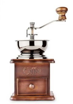 Brown coffee grinder