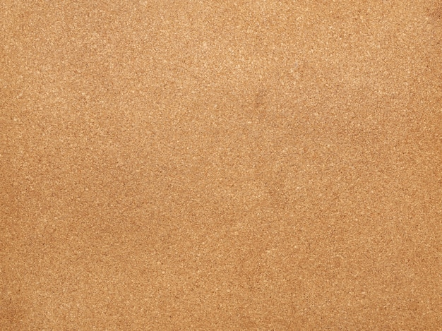 Brown cork board texture for stickers, full frame, close up