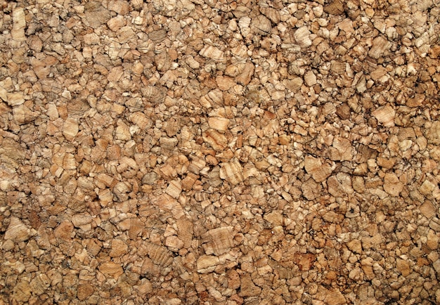 Brown cork wood background