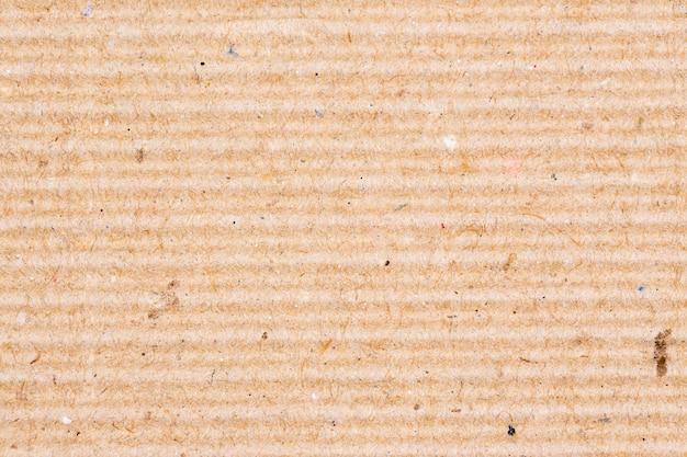 Текстура коричневой гофрированной бумаги