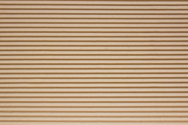 Brown corrugated cardboard texture for background