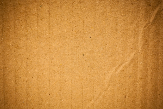 Brown corrugated  paper texture background.