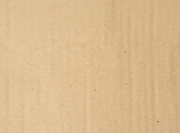 Brown corrugated paper texture, full frame, close up