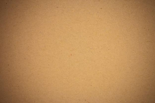 茶色のクラフト紙の背景。
