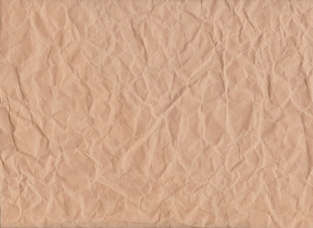茶色のしわくちゃの紙の背景