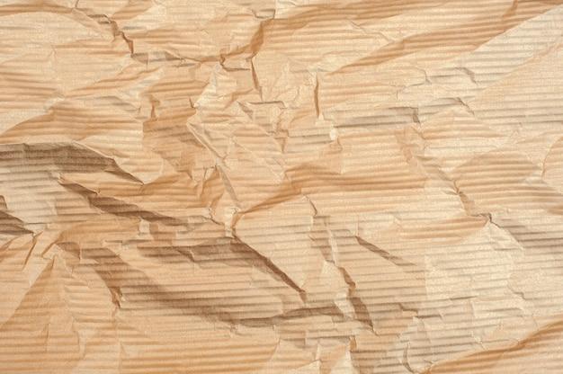 갈색 구겨진 된 종이 텍스처