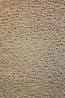 A brown doormat texture background.