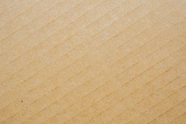 茶色のエコリサイクル段ボール紙シートテクスチャ背景