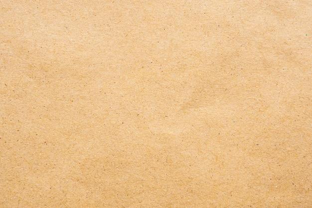 Коричневый эко переработанный крафт-бумага лист текстуры картон фон