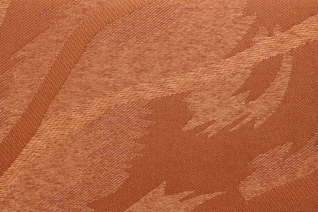 Brown fabric blind curtain texture
