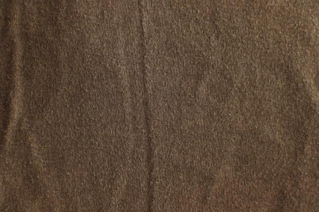 茶色の生地のテクスチャ表面デザイン