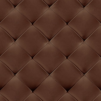 Brown genuine leather upholstery background.