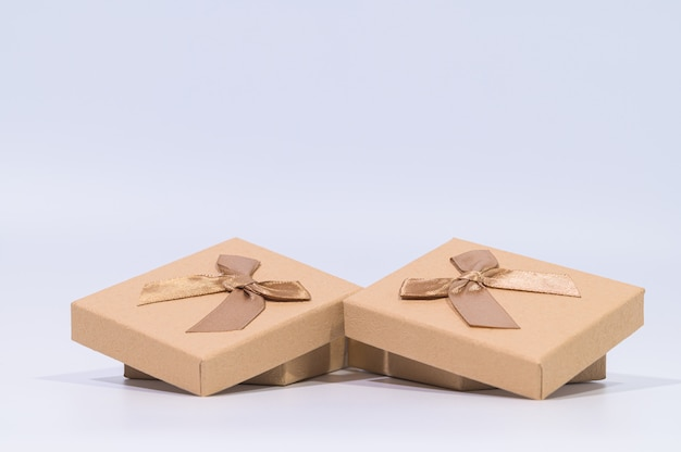 A brown gift box