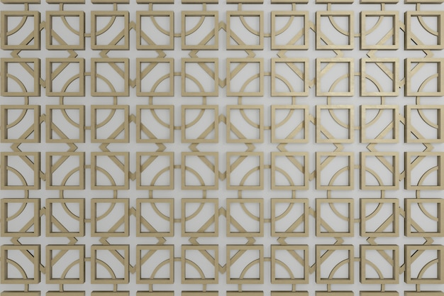 Brown and grey 3d wall for wallpaper of background or wall decoration or backdrop.