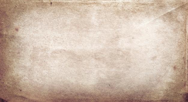 Коричневый гранж-фон из старой текстуры бумаги
