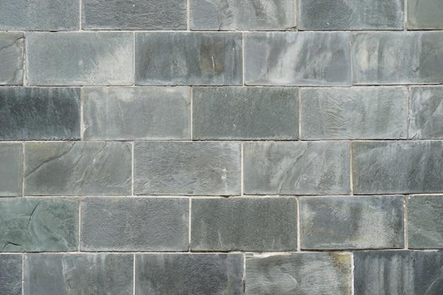 갈색 그런 지 벽돌 복고 배경 콘크리트