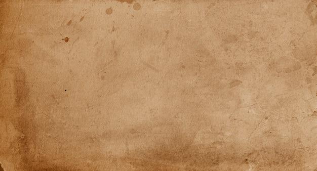 茶色のグランジ古紙の背景