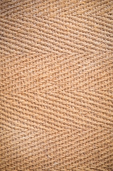 Brown herringbone fabric