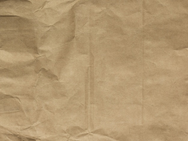 Brown or khaki crumbled paper texture