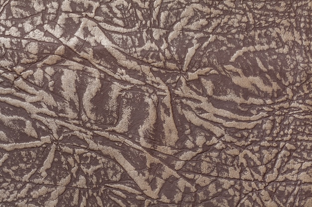 Brown leather background, closeup