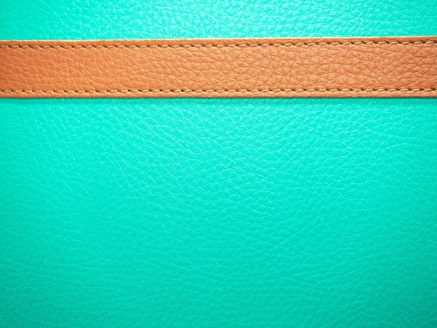 A brown leather on leather mint texture background