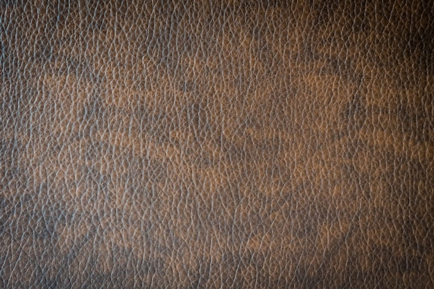 Brown leather and surface