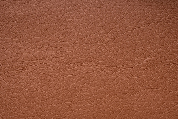 Brown leather texture background close up