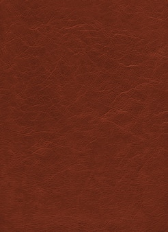 Brown leather texture background. natural material pattern