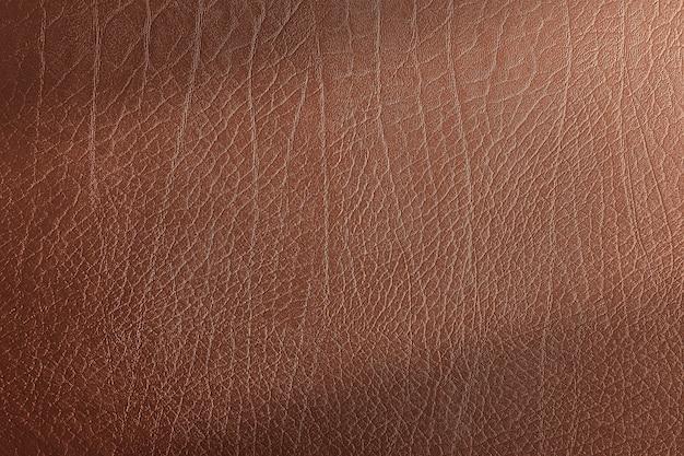 Коричневая кожа текстуры фона
