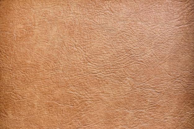 茶色の革テクスチャ表面の背景