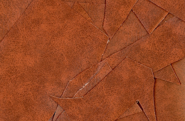 Brown leatherette faux leather texture background