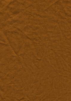 Brown linen cloth texture