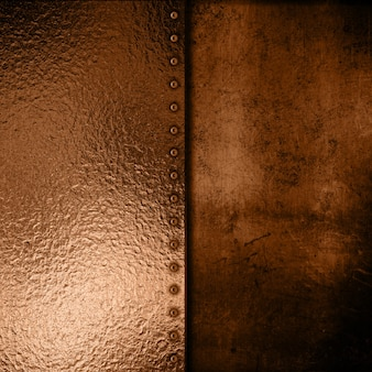 Brown metallic texture