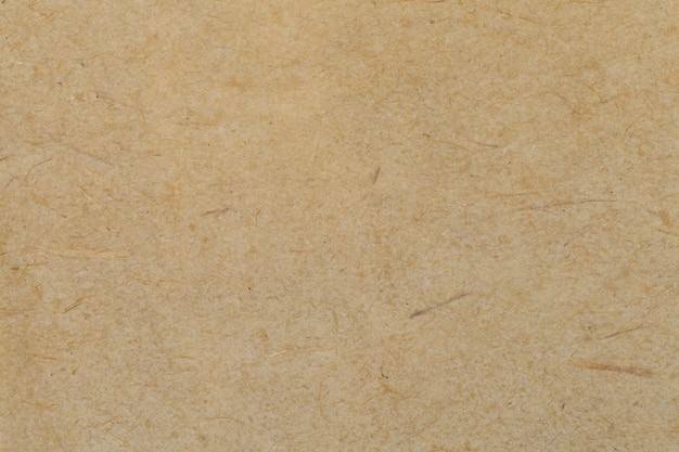 Brown old paper background, thick cardboard,