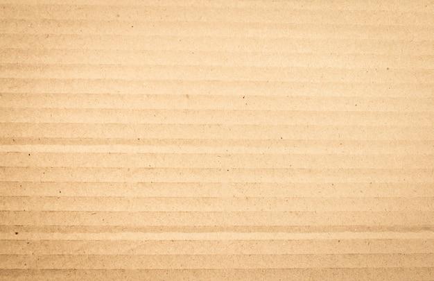 茶色の紙箱または段ボールシートテクスチャ