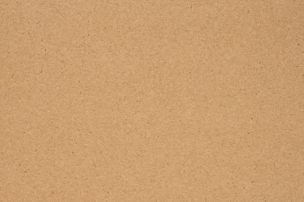 茶色の紙または段ボールのテクスチャの背景。
