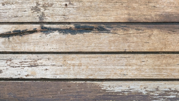 Brown plank wood table rough texture background