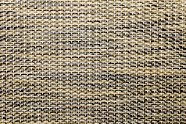 Brown rattan basket weaving pattern texture and background