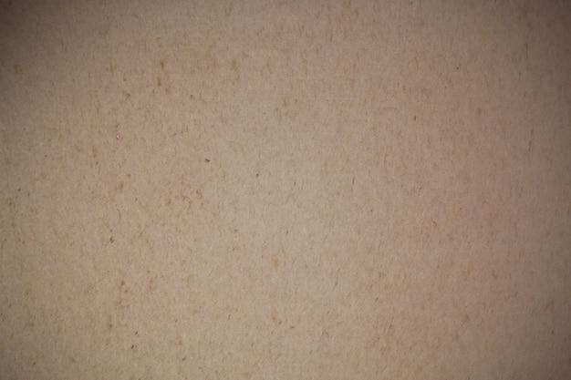 茶色のリサイクル紙の背景。
