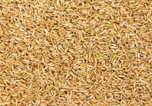 Brown rice texture