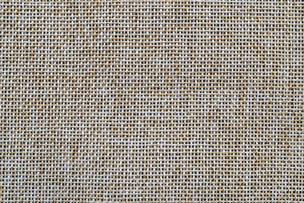 Brown sack or burlap texture background and empty space.