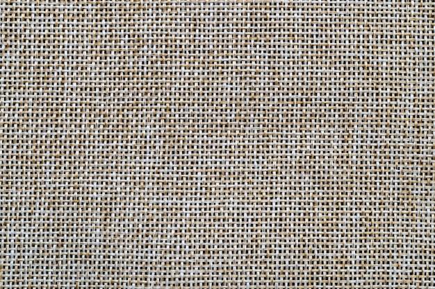 Коричневый мешок или мешковина текстуры фона и пустое пространство.