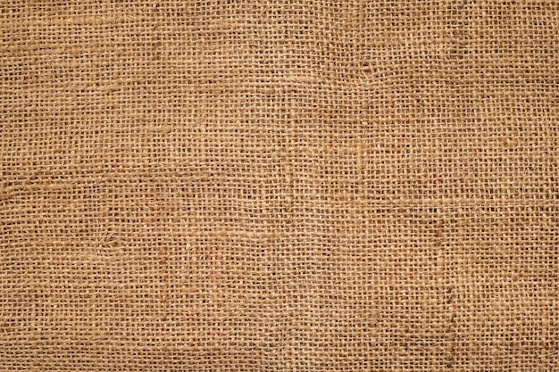 Brown sack texture background.