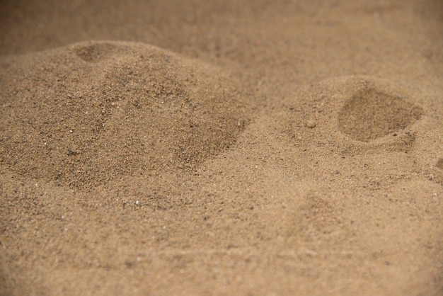 Brown sand surface