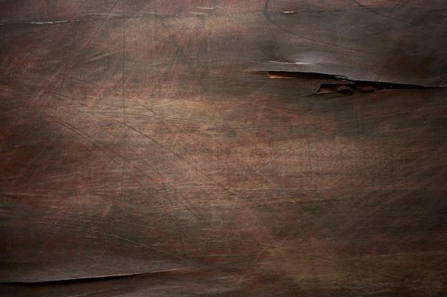 茶色の傷の木製ボード