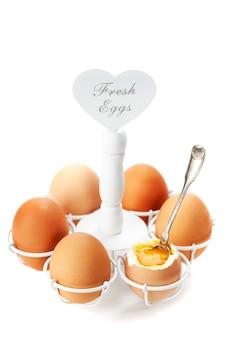 ブラウンのゆで卵
