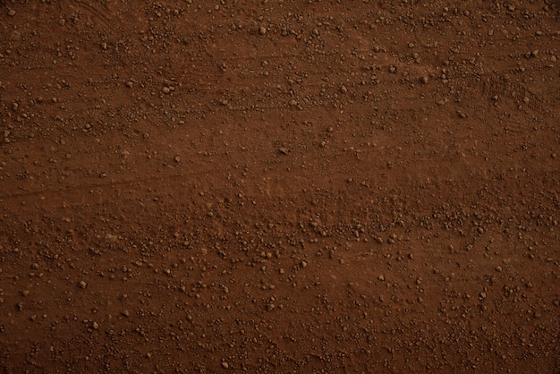 Brown soil texture and background